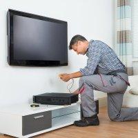 "MOYO Монтаж тв более 60"" на стену + SmartTV"