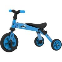 Складной трёхколёсный велосипед TCV 2в1 синий (T701 (B)