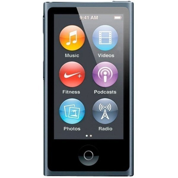 MP3-плеєр APPLE iPod nano 16GB Space Gray (new) - 2015 фото