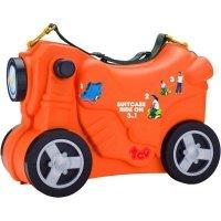 Чемодан-каталка TCV 3в1 Мотоцикл оранжевый