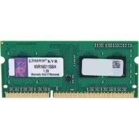 Пам'ять для ноутбука Kingston DDR3 1600 4GB 1.5V (KVR16S11S8/4)