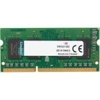Пам'ять для ноутбука Kingston DDR3 1600 2GB 1.35V Retail (KVR16LS11S6/2)