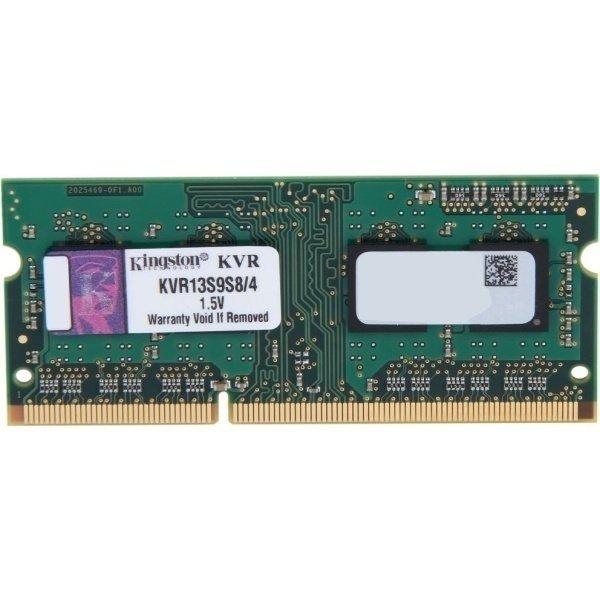 Пам'ять для ноутбука Kingston DDR3 1 333 4GB 1.5V (KVR13S9S8/4)фото1