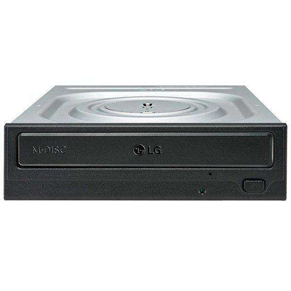 Оптичний привід DVD-RW LG GH24NSD1 SATA Black Bulk (GH24NSD1)фото