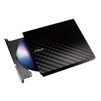 Зовнішній оптичний привід ASUS DVD ± R/RW USB 2.0 (90-DQ0435-UA221KZ) Black