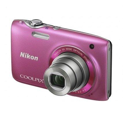 ≡ Фотоаппарат NIKON Coolpix S3100 Pink (VMA716E1) – купити в Києві ... f36464e7acd0a