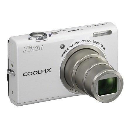 ≡ Фотоаппарат NIKON Coolpix S6200 White (VMA865E1) – купити в Києві ... 48aaeb3fff750