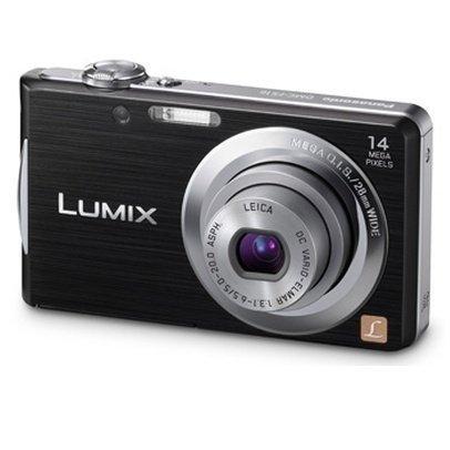 Фотокамера цифровая PANASONIC Lumix FS16 Black