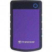 """Жесткий диск TRANSCEND 2.5"""" USB3.0 StoreJet, серия H, 1TB Purple (TS1TSJ25H3P)"""