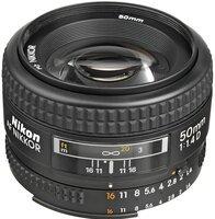 Объектив NIKON AF 50 mm f/1.4D (JAA011DB)