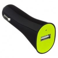 Автомобильное зарядное устройство Kit USB Charger 2.1A Black