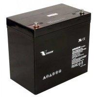 Аккумуляторная батарея Vision 12V 55Ah (6FM55-X)