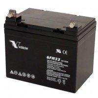 Аккумуляторная батарея Vision 12V 33Ah (6FM33E-X)