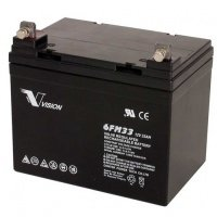 Акумуляторна батарея Vision 12V 33Ah (6FM33E-X)