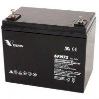 Батарея Vision 12V 75Ah