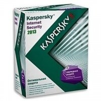 Антивирус Kaspersky Internet Security 2013 2 Desktop BOX
