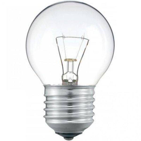 Лампа накаливания Philips E27 40W 230V P45 CL 1CT/10X10F (926000006443) фото