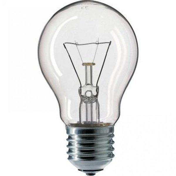 Лампа накаливания Philips E27 40W 230V A55 CL 1CT/12X10F Stan (926000000885) фото 1
