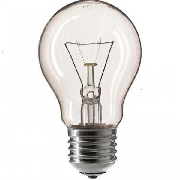 Лампа накаливания Philips E27 75W 230V A55 CL 1CT/12X10F Stan (926000004004) фото
