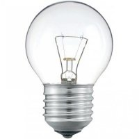 Лампа розжарювання Philips E27 60W 230V P45 CL 1CT/10X10F Stan (926000005857)