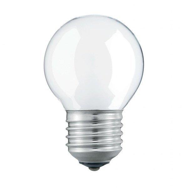 Лампа розжарювання Philips E27 40W 230V P45 CL 1CT/10X10F Stan (926000006412)фото