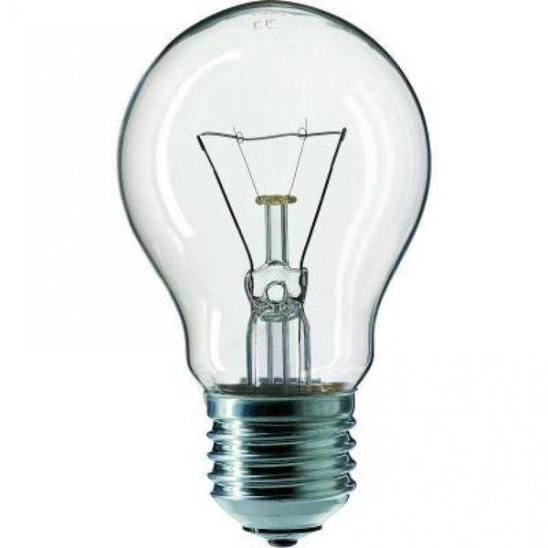Лампа розжарювання Philips E27 60W 230V A55 CL 1CT/12X10F Stan (926000006627)фото