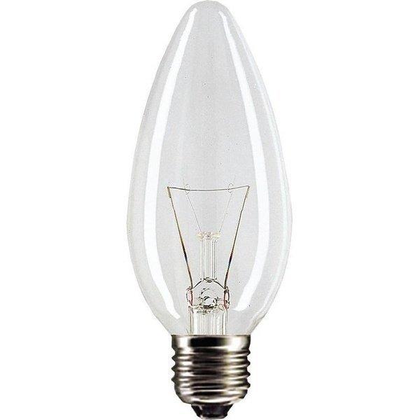 Лампа накаливания Philips E27 40W 230V B35 CL 1CT/10X10F (921492044219) фото