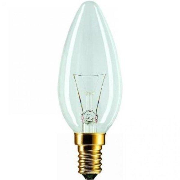 Лампа накаливания Philips E14 60W 230V B35 FR 1CT/10X10F (926000007720) фото