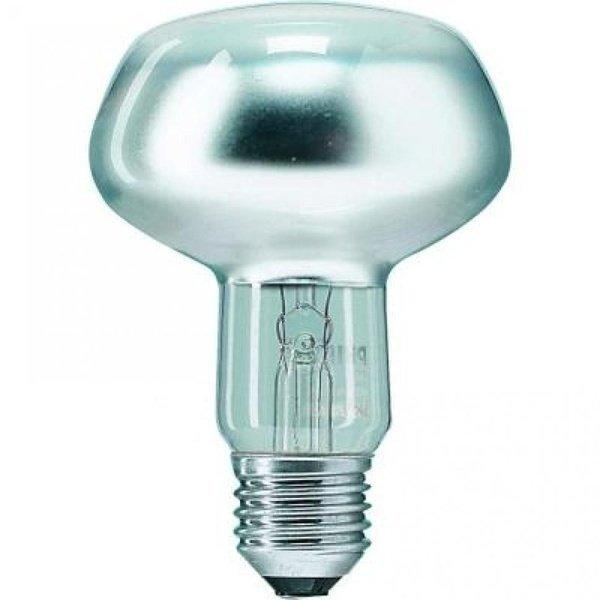 Лампа розжарювання Philips E27 60W 230V NR80 25D 1CT/30 Refl (923331044253)фото