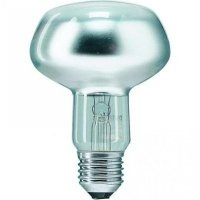 Лампа накаливания Philips E27 60W 230V NR80 25D 1CT/30 Refl (923331044253)