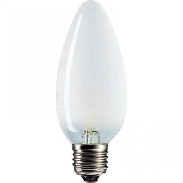 Лампа накаливания Philips E27 40W 230V B35 FR 1CT/10X10F Stan (921492144218) фото 1