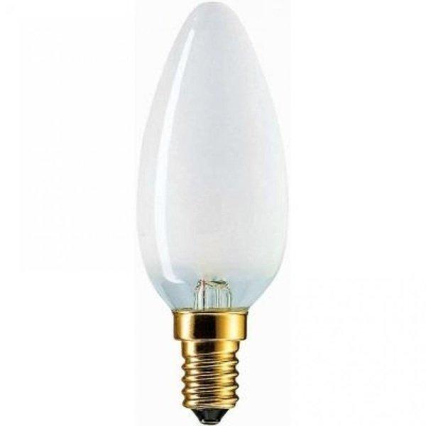 Лампа накаливания Philips E14 60W 230V B35 FR 1CT/10X10F Stan (926000007764) фото 1