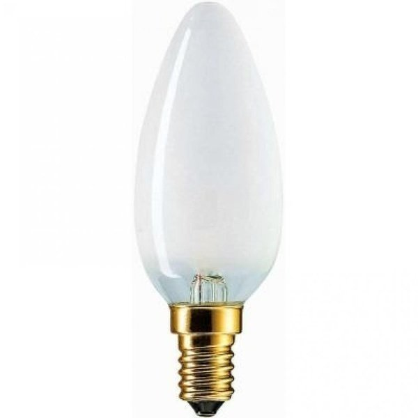 Лампа розжарювання Philips E14 60W 230V B35 FR 1CT/10X10F Stan (926000007764)фото