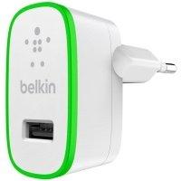 Сетевое зарядное устройство Belkin Home Charger USB 2.4A White