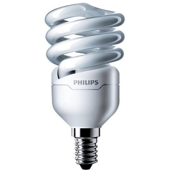 Лампа энергосберегающая Philips E14 12W 220-240V WW 1CT/12 TornadoT2 8y (929689381502) фото