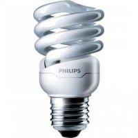 Лампа енергозберігаюча Philips E27 12W 220-240V WW 1CT/12 TornadoT2 8y (929689868506)