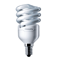 Лампа енергозберігаюча Philips E14 12W 220-240V CDL 1CT/12 TornadoT2 8y (929689381602)