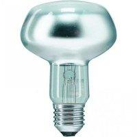 Лампа накаливания Philips E27 75W 230V NR80 25D 1CT/30 Refl (923331244220)
