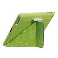 Чехол Ozaki для планшета iPad New iCoat Slim-Y+ Green Mechanism