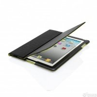 Аксессуары CAPDASE Folder Case Folio Dot Black/Green for New iPad/iPad 2