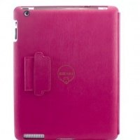 Чехол Ozaki для планшета iPad New iCoat Notebook Pink