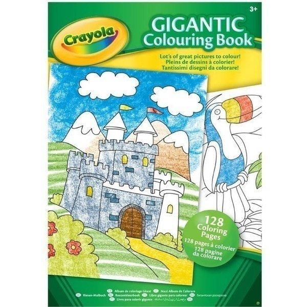 большая книга раскраска Crayola 128 страниц 04 1407