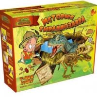 Игра-раскопки Easy Science История тираннозавра (45101)