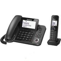 Телефон Dect Panasonic KX-TGF320UCM Black
