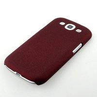 Чехол iPearl для Galaxy S3 Villus Matte case Red