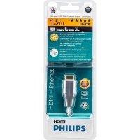 Кабель HDMI Philips (AM/AM) High Speed w/Ethernet 1.5м, Black