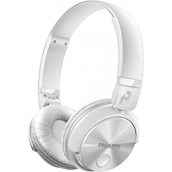 ≡ Навушники Philips SHB3060 Mic White Wireless – купити в Києві ... 7b2460bb8bd7f