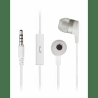 Наушники KitSound Entry Mini mic white