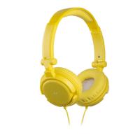 Наушники KitSound iD mic yellow