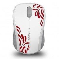 Миша RAPOO 3100р wireless, біла (57663)